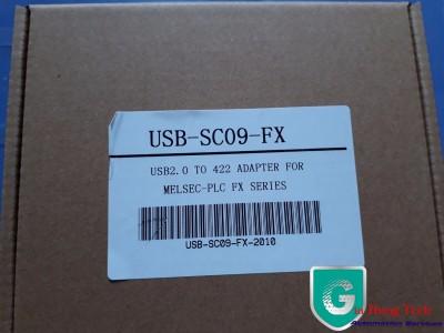 Cáp lập trình PLC Mitsubishi dòng FX USB/SC 09